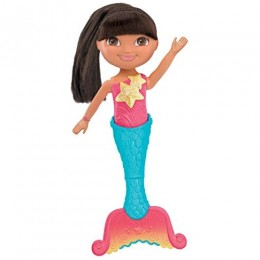Dora The Explorer Dive and Swim Mermaid Doll