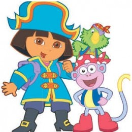 Dora the Explorer Slide Puzzle