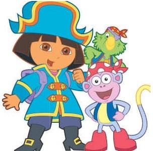 Dora the Explorer Slide Puzzle