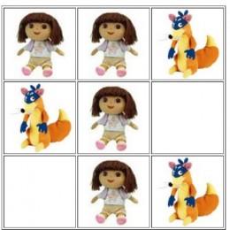 Dora the Explorer Tic Tac Toe